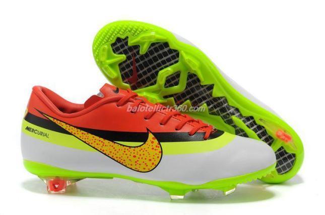 Nike Mercurial Vapor IX CR FG Boots - Wht Pink
